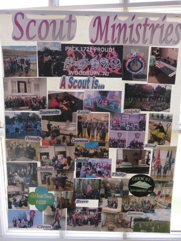 Posters: scout ministries