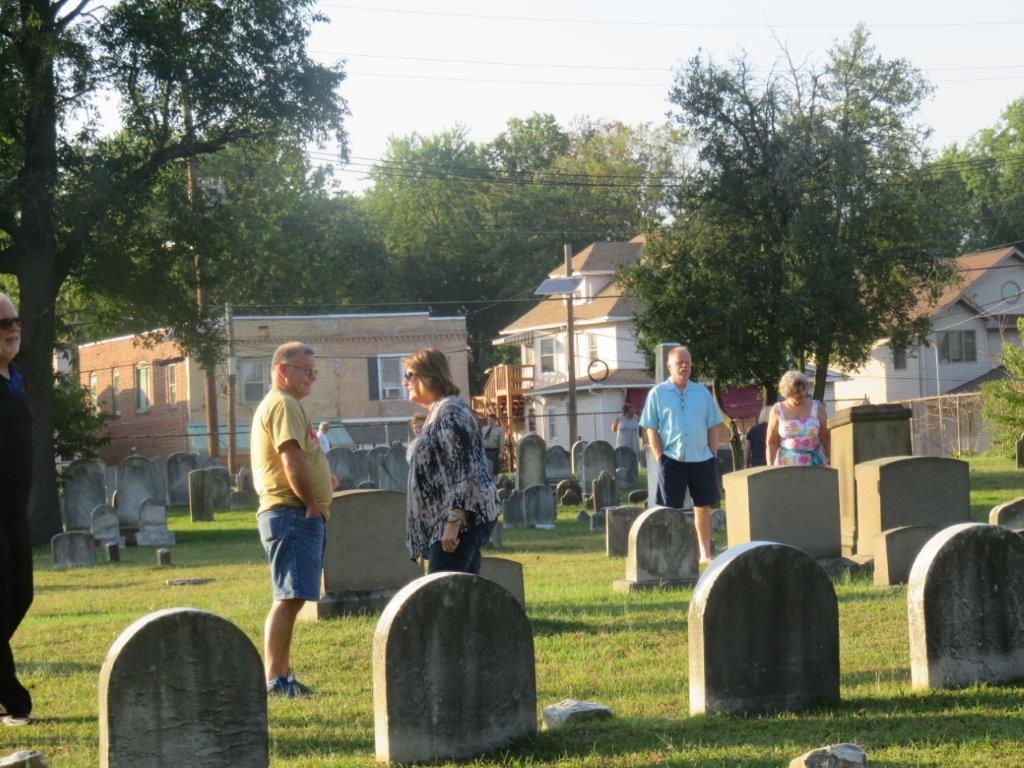 Presbyterian Burial Ground Service: September 24, 2017