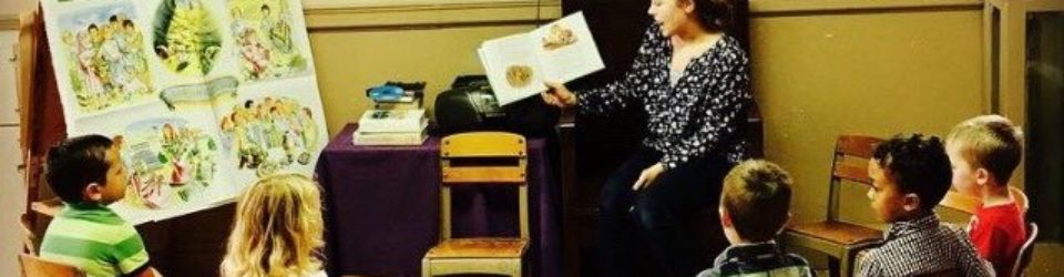 Book Reading in Children's Ministry