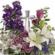 Easter flowers with silver cross