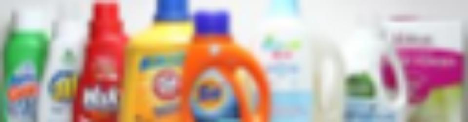 laundry detergent bottles