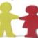 children cut-outs graphic