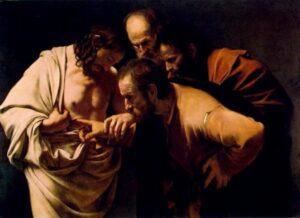 Caravaggio's The Incredulity of Saint Thomas