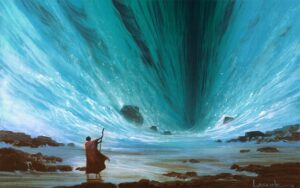 Illustration: Parting of the Red Sea